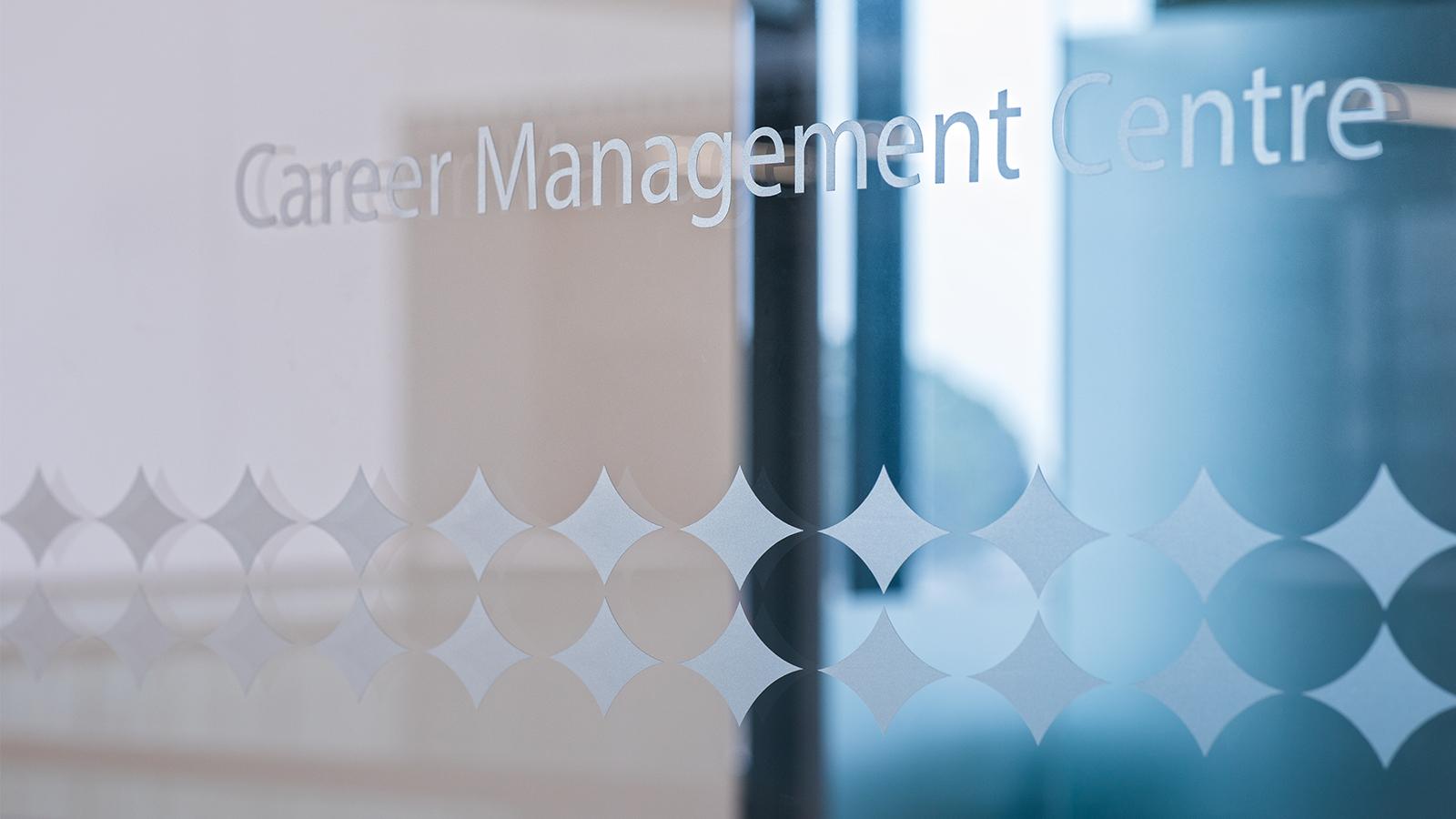 Career Management Centre window